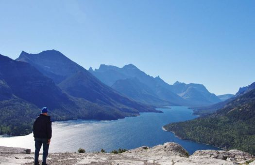 Waterton Lake from the Bear's Hump