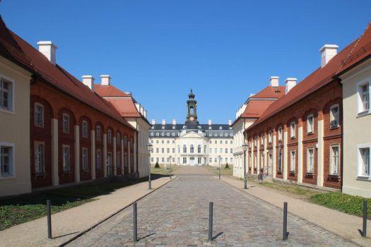 Hubertusburg - a Rococo palace in Saxony, Germany