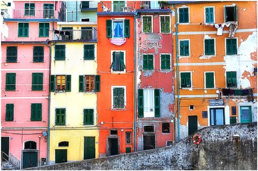 Colorful Old Buildings