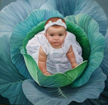 Pretty little Girl by Christiane Vleugels