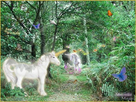 Unicorns Three (Med.-Large)