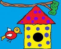 Birdhouse Doodle