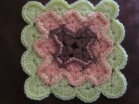 My project for today..Bavarian crochet