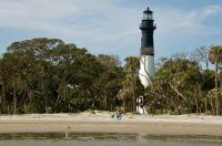 Hunting Island Lighthouse and Beach -  S. Carolina