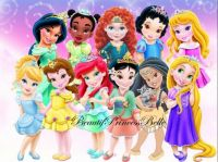 Toddler Princesses