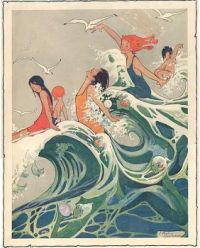 Swimmers and Mermaids  1910