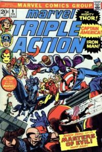The Avengers Versus The Masters Of Evil