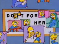 Simpsons - Do it for her