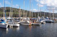Port Huon Marina Tasmania Australia