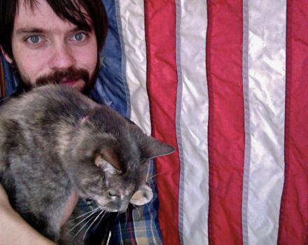 my boy and my cat