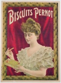 Themes Vintage ads - Biscuits Pernot