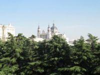 desde mi ventana. Palacio Real y Almudena. Madrid