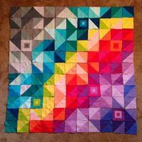 Color Spectrum Quilt