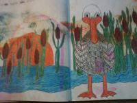 Comical Duck in Marsh