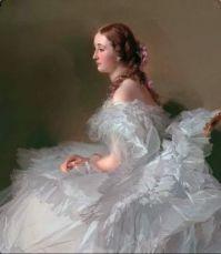 Lydia Schabelsky, Baroness Stael-Holstein - Winterhalter