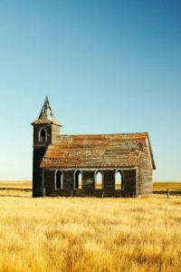 Decay - Derelict Church in Dooley, Montana