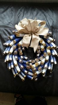 cartridge wreath