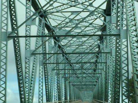 Lake Barkley bridge in KY