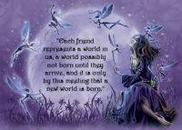 """""""Each friend..."""""""