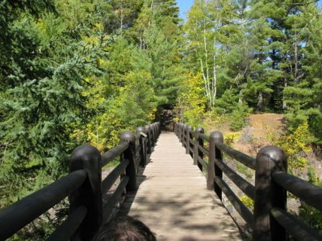 Bridge To Copper Falls