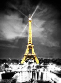 Paris at night 1