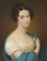 Carl von Saar (1797-1853) Bildnis Maria Despina Nitto (1795 - 1866)