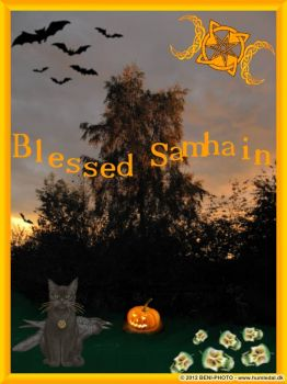 Blessed Samhain to everybody!