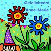 Happy Birthday, Anne-Marie!