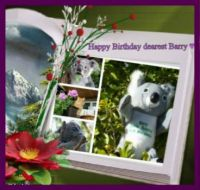 Happy Birthday dearest Barry ♥