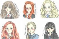The Girls of Harry Potter