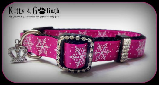 Pinknblack Pet Bling