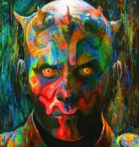 Darth Maul on LSD