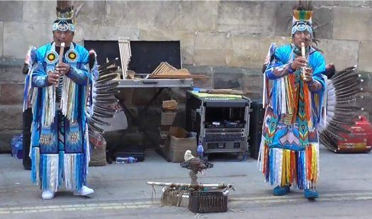 Ecuadorian Musicians in York