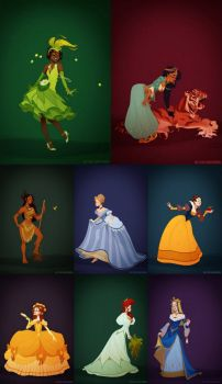 Historical Disney Princesses 2