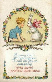 Bunny and I