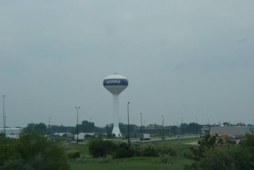 Morris has his own water tower!