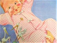 Themes Vintage ads - Illustration from Carters Baby Clothing
