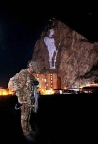 Gibraltar's tribute to the fallen