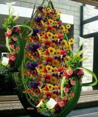 Květinová dekorace....