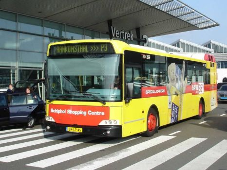 Bus at airport