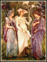 """Signs of Spring"" by Walter Crane"