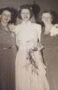 My Mother On Her Wedding Day!!