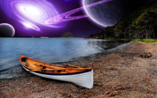 Rowboat View of the Universe