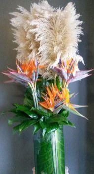Reception flowers.