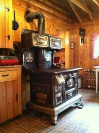 Great Grandma's Old Cook Stove