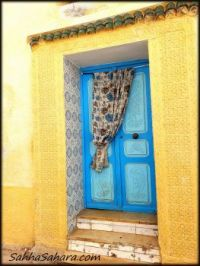 Yellow and blue, Tunisia
