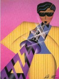 Art Deco  'Calypso'