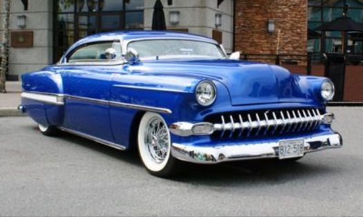 54 Chevy chop top