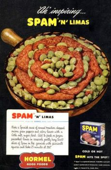 "Any recipe that says ""bury 8 or 10 slices of Spam"" has my vote..."