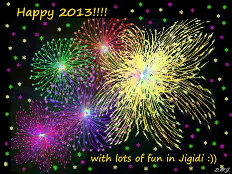 A Happy New Year to Everybody.   May All Your Wishes Come True. :)) III